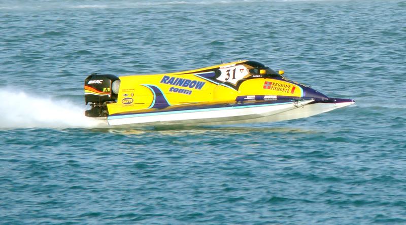 F1 Powerboat Championship – Team Rainbow, Italy