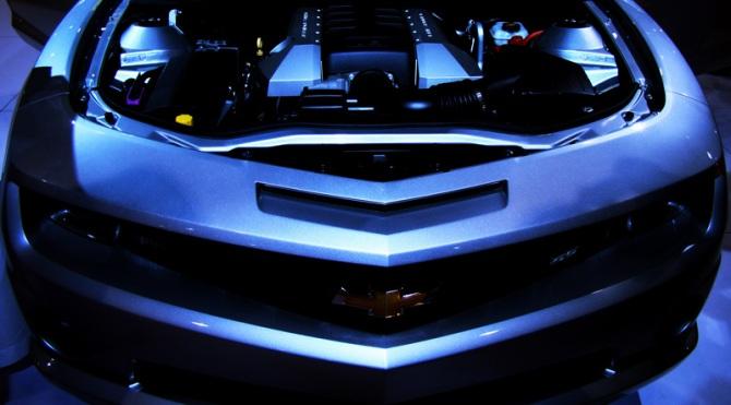 Camaro hood