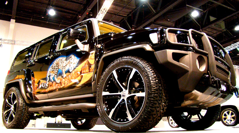 Hummer h3 Graphics