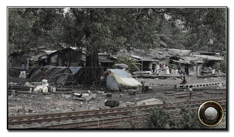 Slum-colony